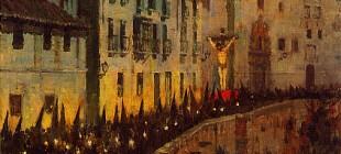 La Semana Santa de Granada en la pintura de Jorge Apperley