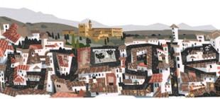 Granada en el logo de Google