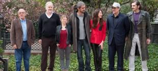 Benicio del Toro y Tim Robbins visitan la Alhambra
