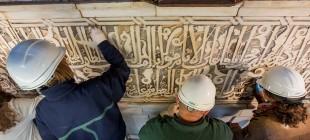 Restauración con sorpresas en la Alhambra
