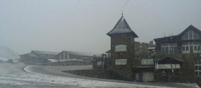 Las primeras nieves de la temporada