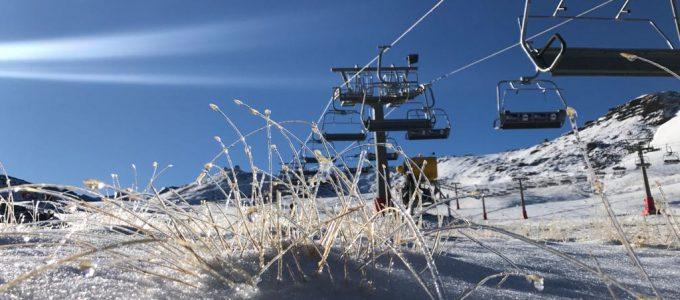 La nieve va tomando Sierra Nevada